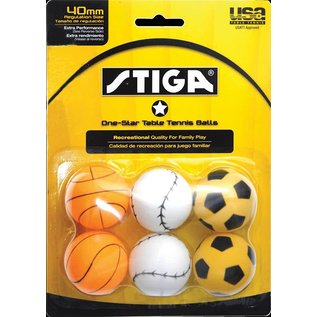 Stiga 1 Star Sport Balls
