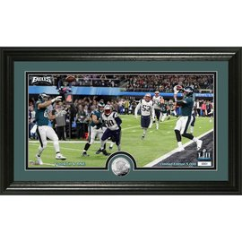 THE HIGHLAND MINT EAGLES SUPER BOWL 52 4TH &1 PANO PM