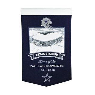 WINNING STREAK DALLAS COWBOYS TEXAS STADIUM BANNER