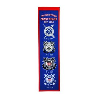 WINNING STREAK US COAST GUARD HERITAGE BANNER 48690
