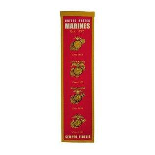 WINNING STREAK US MARINE HERITAGE BANNER 48650