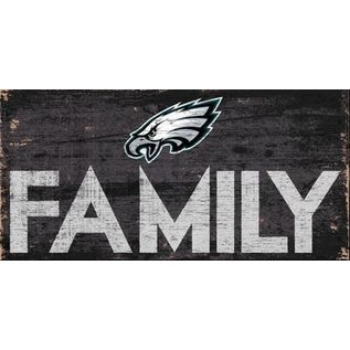 FAN CREATIONS PHILADELPHIA EAGLES FAMILY SIGN