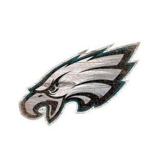 FAN CREATIONS Eagles DISTRESSED LOGO CUTOUT