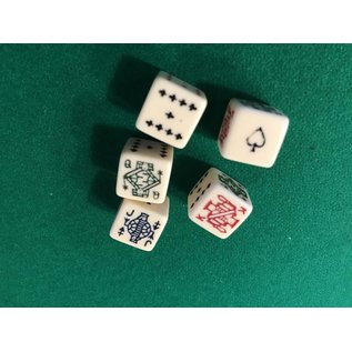 Poker Dice 5 pc Set