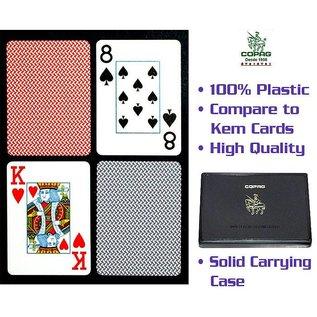 Copag 1 red 1 blue deck Copag Jumbo Poker Cards 10-p6116J