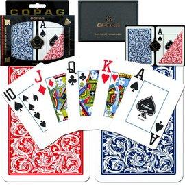 Copag Red & Blue Copag Jumbo Cards 703-8