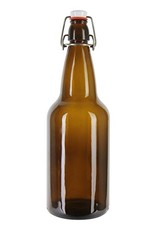 500ml Amber Flip Top Bottles - Case (12)