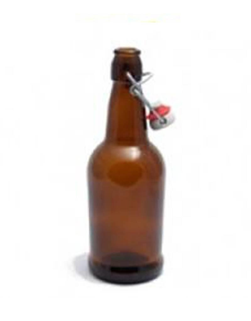 EZ Cap 16oz Amber Bottle Case (12)