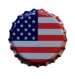 American Flag Crown Caps-144ct