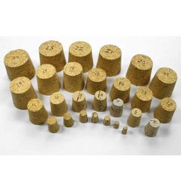 Black Synthetic Cork 21.5mm single