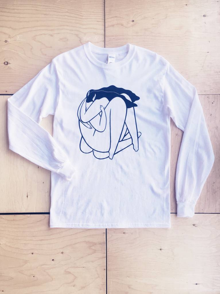 Annex Collaborations T-shirt à manches longue 'How to Hold Yourself'