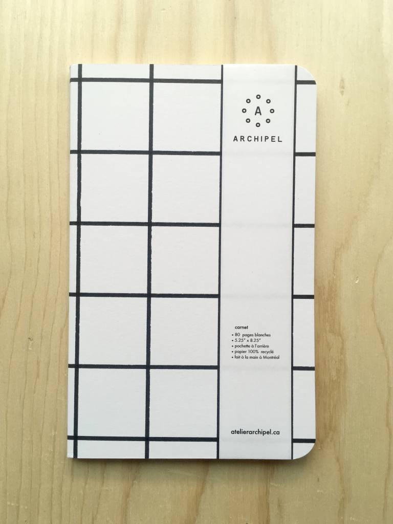 Atelier Archipel Grid Notebook