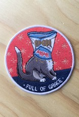 Stay Home Club Full of Grace Patch