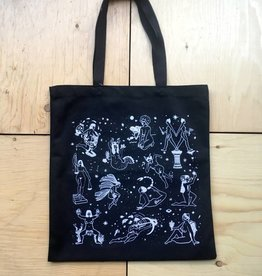 Life Wife Press Ladies of the Zodiac Tote