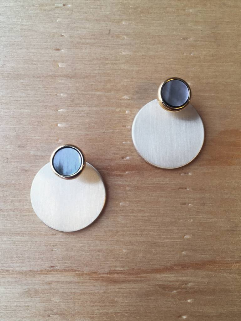 Lover's Tempo Disc-o Jacket Earrings