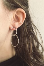 Lover's Tempo Infinity Hoop Earrings