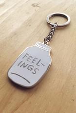 Adam J Kurtz Bottled Up Feelings Keychain