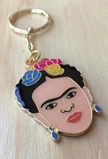 The Found Frida Kahlo Keychain