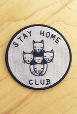 "Stay Home Club Appliqué ""Stay Home Club"""