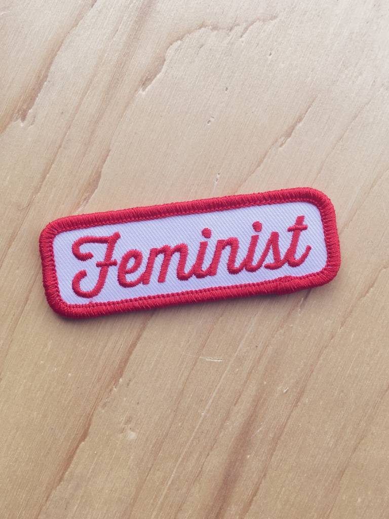 These Are Things Feminist Patch (red)