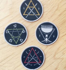Rambling Hands Minor Arcana Tarot Patches