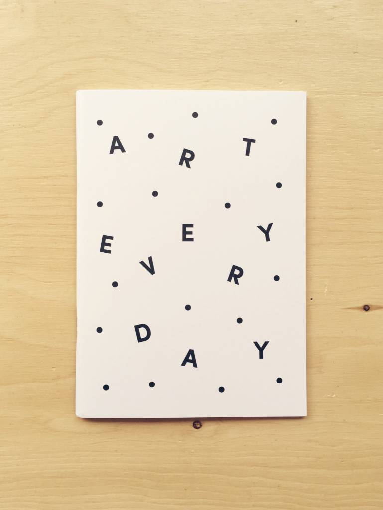 "Poketo Carnet ""Art Everyday"""