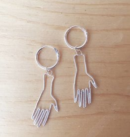 Bilak Jewellery Hands Earrings