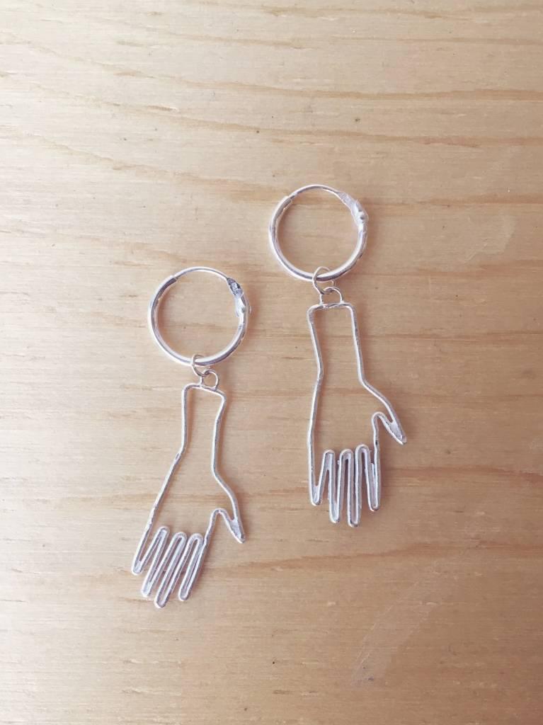 Bilak Jewellery Hands Earrings