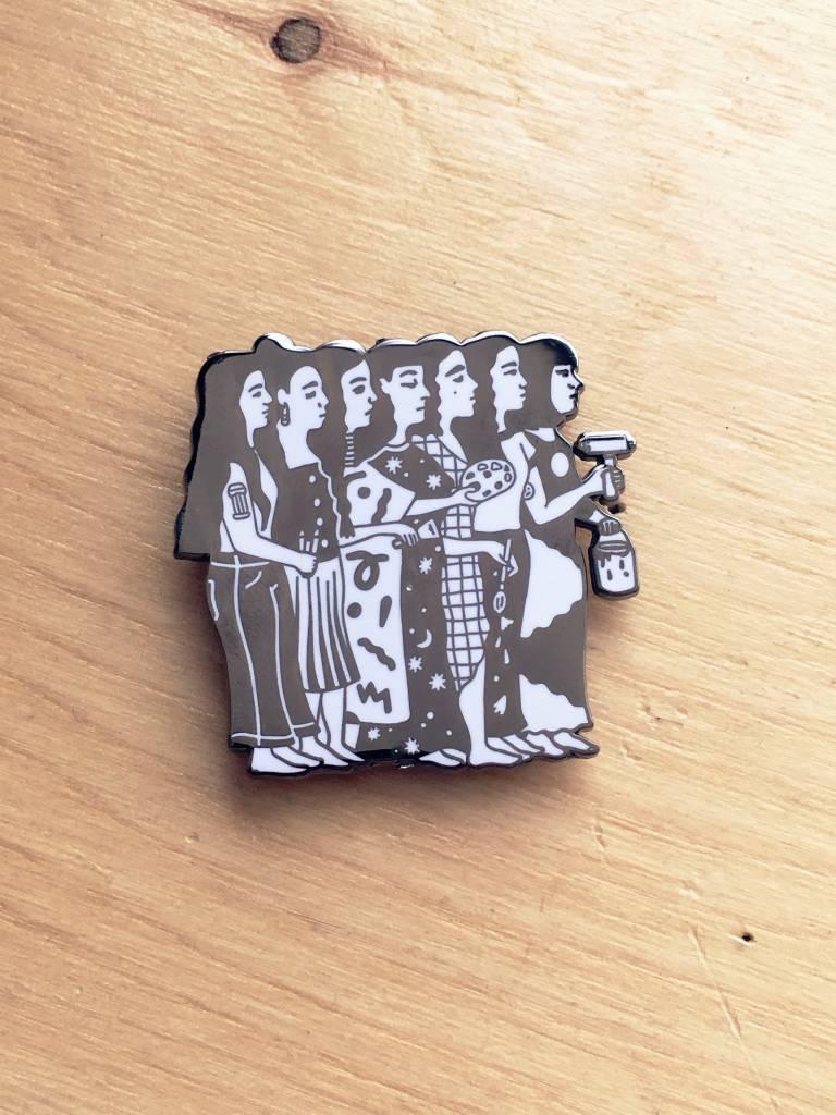 Life Wife Press I Like To Art Pin