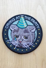 Stay Home Club Crying at the Party Patch