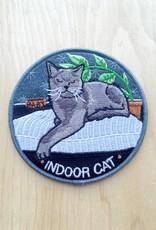 """Stay Home Club Appliqué """"Indoor Cat"""""""
