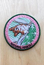 "Stay Home Club Appliqué ""Natural Habitat"" Chien"