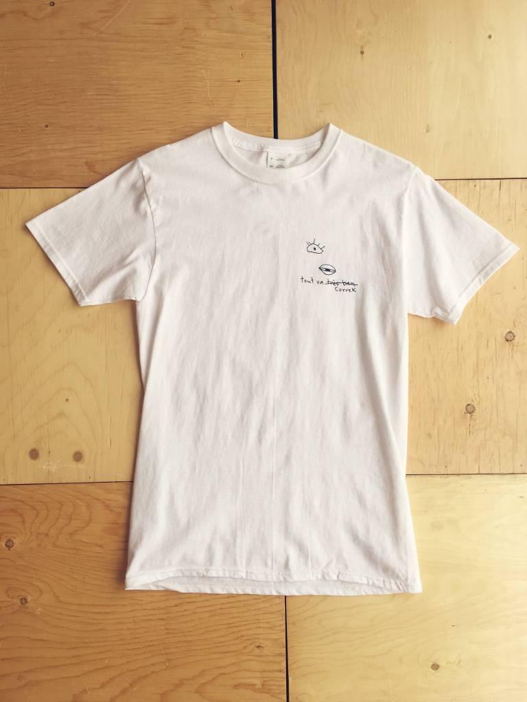 Toujours Correct Tout Va Correk T-shirt