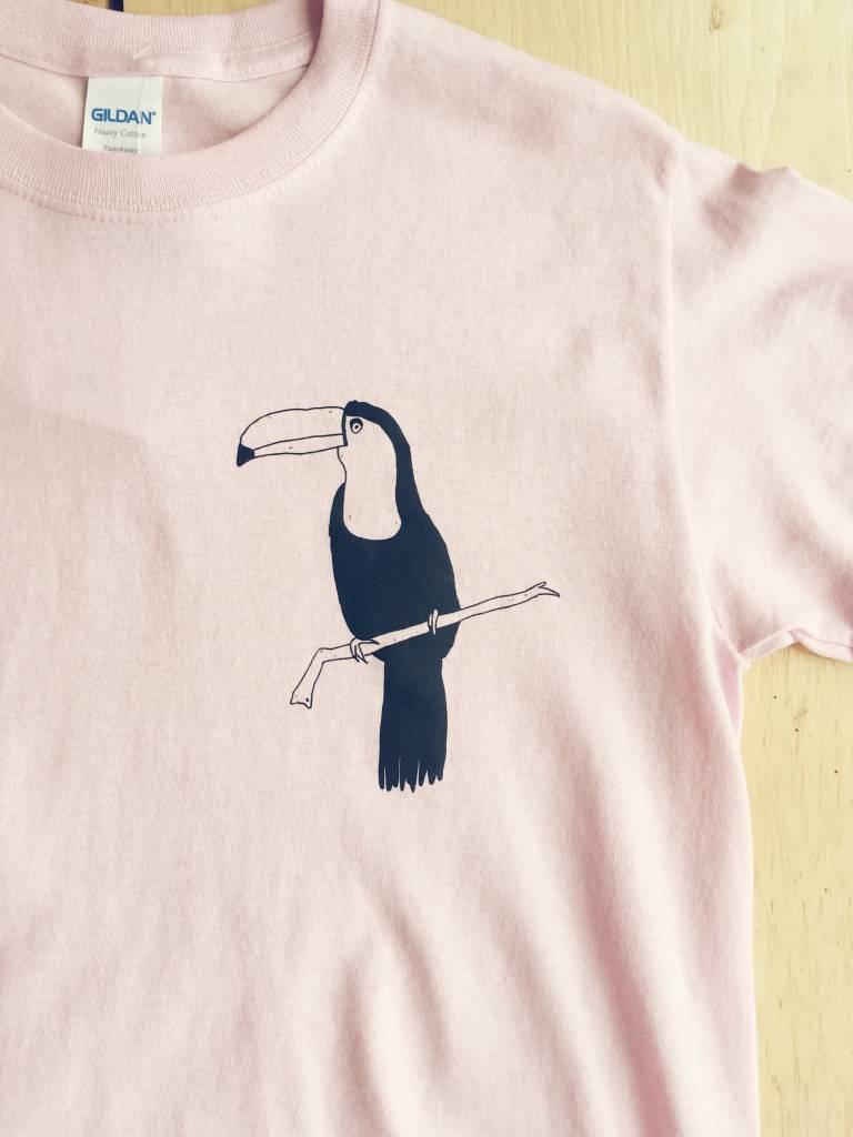 "Dave's Club House T-shirt ""Toucan"""