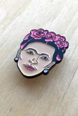 Kristina Micotti Épinglette Frida Kahlo