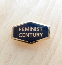 "Word For Word Factory Épinglette ""Feminist Century"""