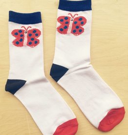 Gentle Thrills Butterfly Socks