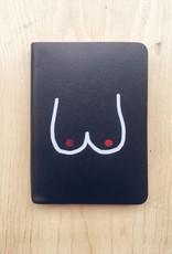 Ark Colour Design Boobs Leather Notebook