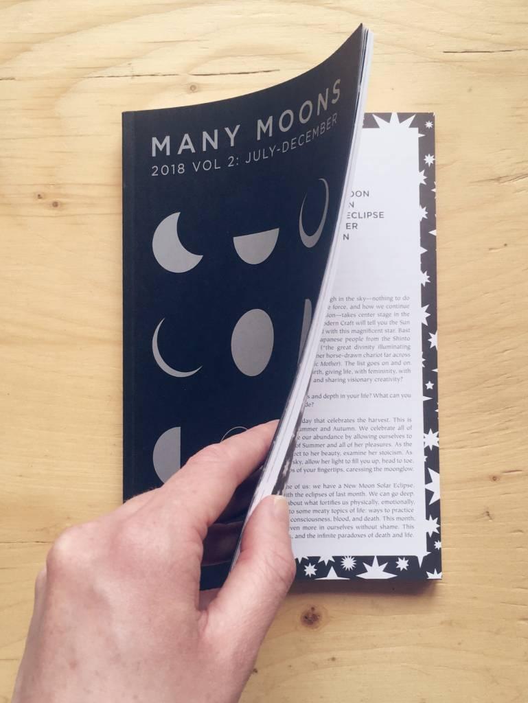 "Modern Women Livre ""Many Moons 2018 vol. 2"""
