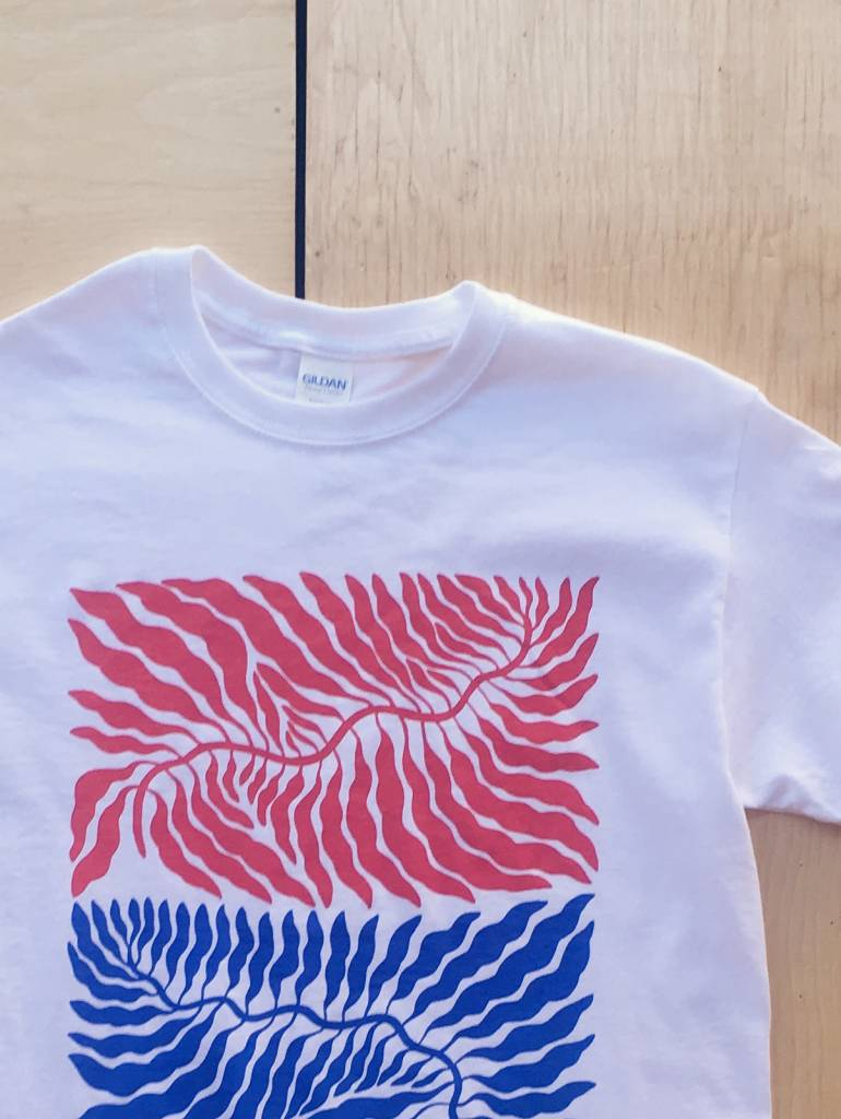 """Annex Collaborations T-shirt """"Leaves"""""""
