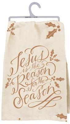 Jesus is the Reason Dish Towel