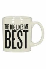 Dog Likes Me Mug