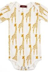 Yellow Giraffe Onesie 3-6 month