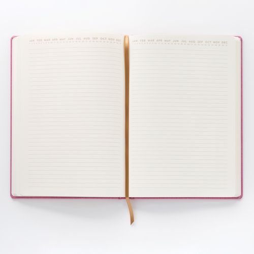 Everyday Hustle Pink Cloth Journal