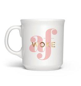 """""""Woke AF"""" Mug"""