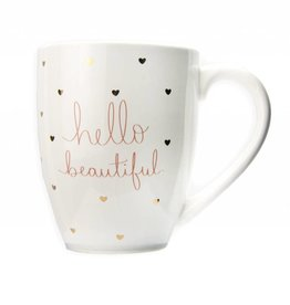 """Hello Beautiful"" Mug"