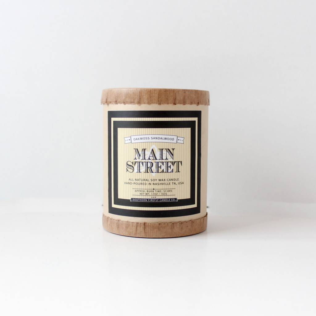 Southern Firefly Candle Main Street Candle