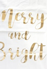 Gold Glam Merry Bright Towel