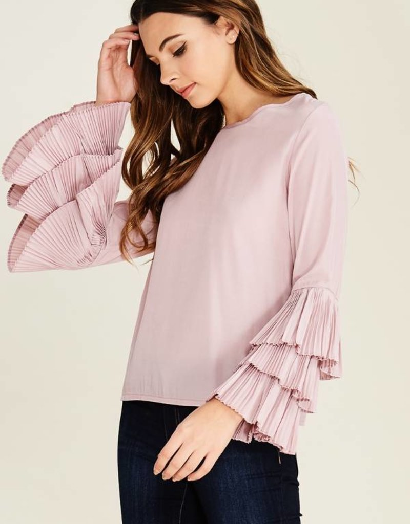 Layered Bell Sleeve Top