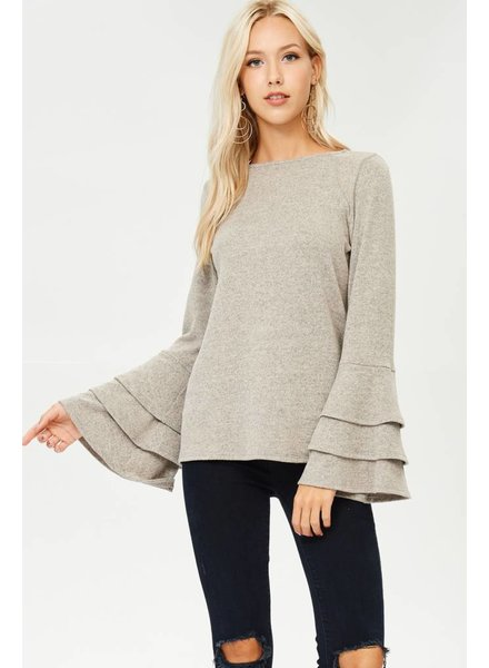 Angie Layered Sleeve Top